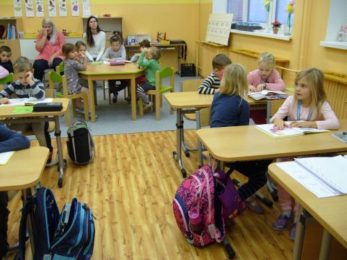 Návštěva dětí z mateřské školy