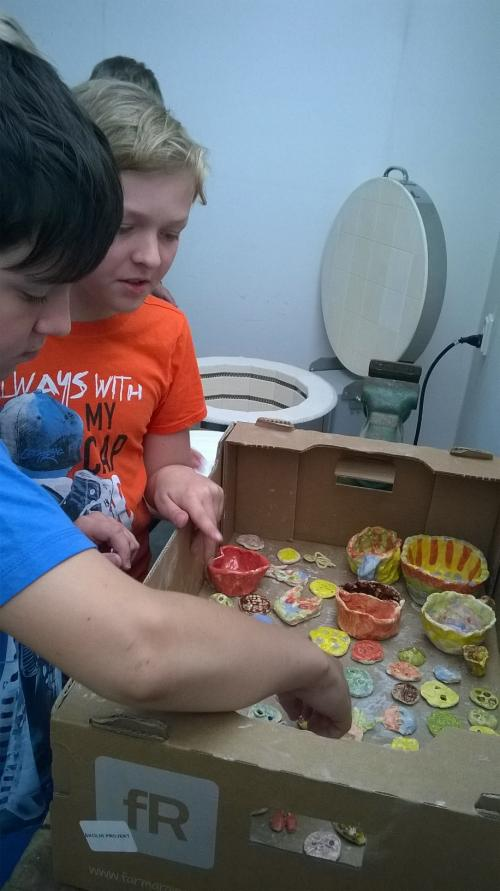 Keramika v kroužku