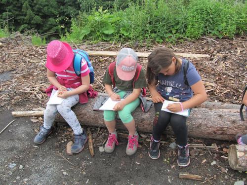 Lesní pedagogika pro malé
