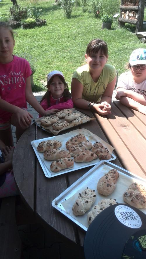Jak se peče chleba