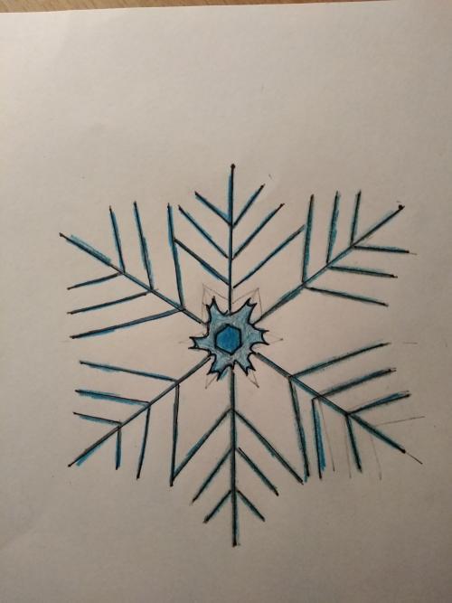 VV - Sněhové vločky